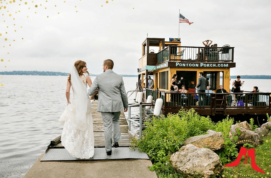 Pontoon Porch Wedding